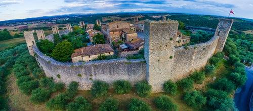 Monteriggioni, uno de los rincones de la Toscana más bonitos