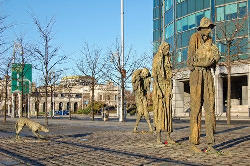 Monumento a la hambruna Dublin