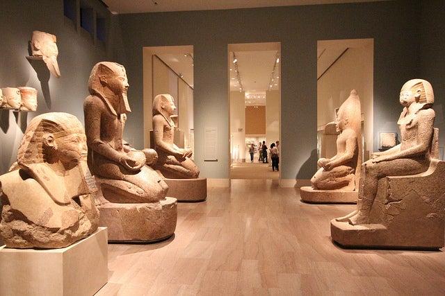 Colección egipcia en el Museo Metropolitando de Arte