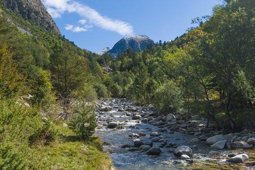 Paisaje del Parque Nacional de Aigüestortes