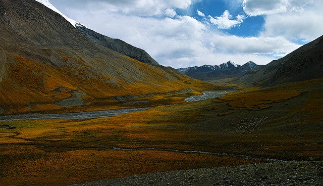 Paisaje del Tíbet