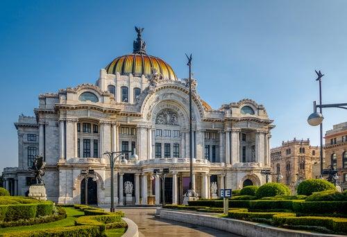 Palacio de las Bellas Artes en México D.F.