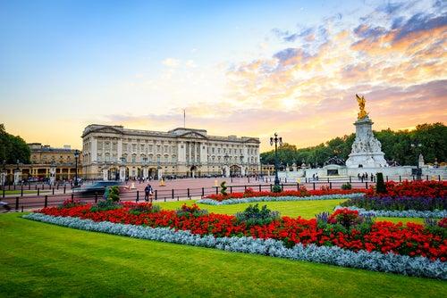 Exterior del Palacio de Buckingham