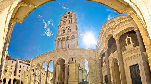 Croacia en fotos, Palacio de Diocleciano en Split