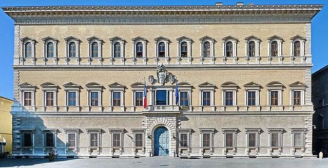 Palacio Farnesio en Roma