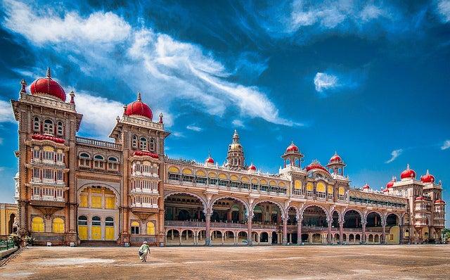 Palacio de Mysore en la India