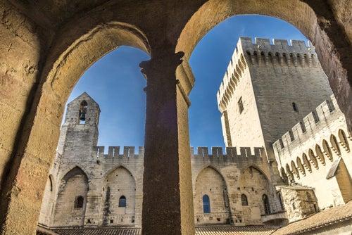 Palacio de los Papas en Avignon, Provenza francesa