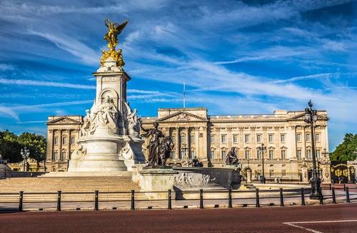 Palacio REal de la Corona Británica en Londres