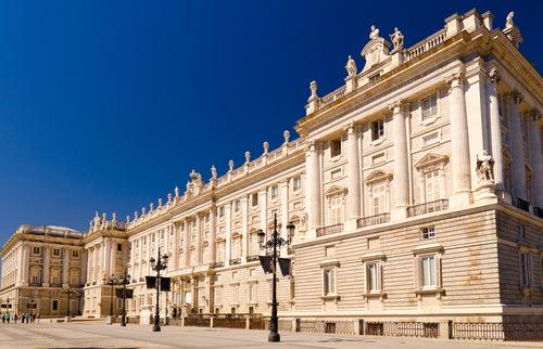 Palacio Real uno de los sitios más bonitos del mapa de Madrid