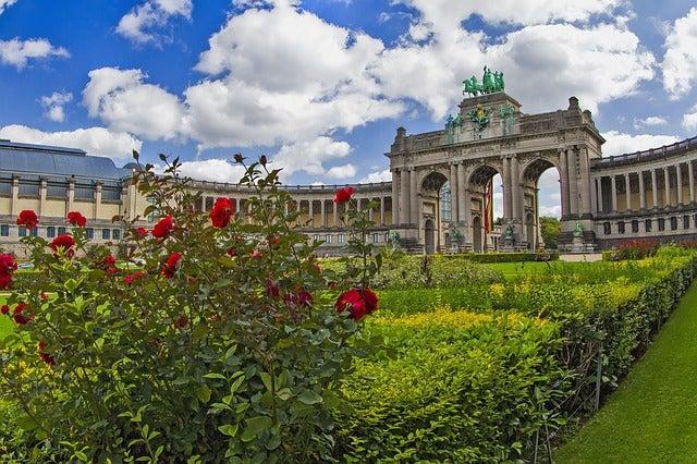 Parque del cincuentenario, uno de los lugares de interés en Bruselas