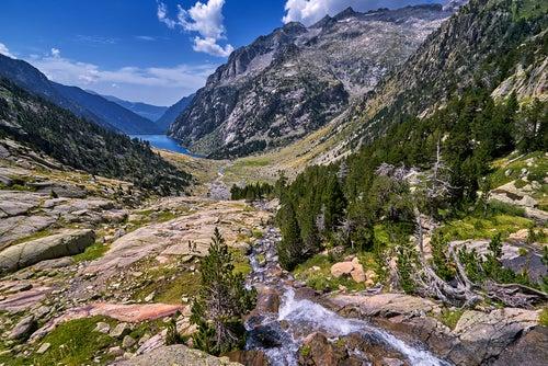 Vista del Parque Nacional de Aigüestortes