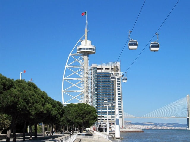 Parque delas Naciones en Lisboa