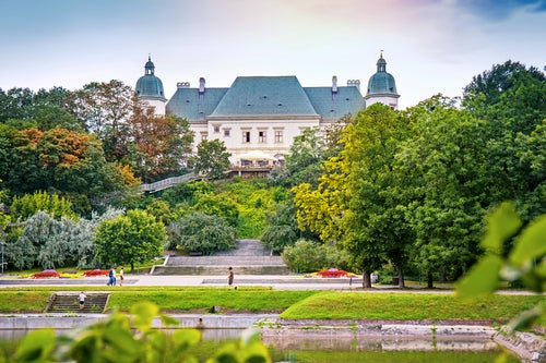 Parque Ujazdow en Varsovia