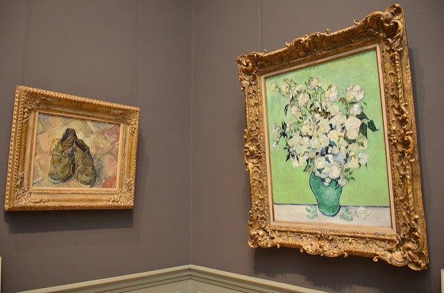 Pinturas en el Museo Metropolitano de Arte