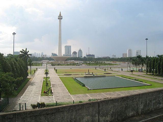 Plaza Merdeka en Yakarta