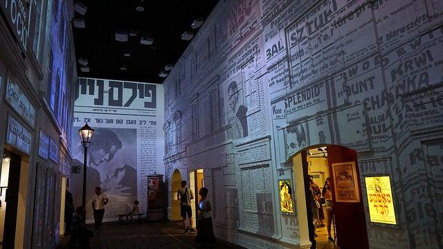 Polin museum en Varsovia