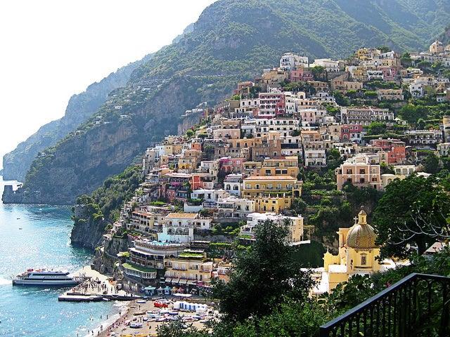 Positano, uno de los rincones italianos más bonitos