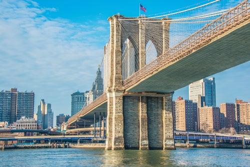 Puente deBrooklyn, uno delos monumentos de Nueva York