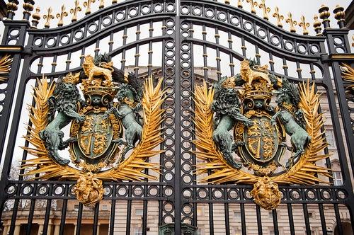 Entrada del palacio de Buckingham