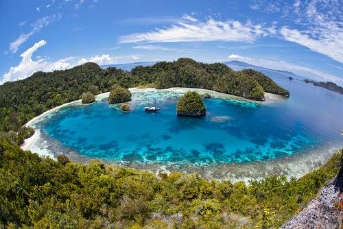 Raja Ampat en Indonesia, Asia