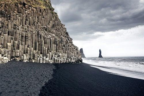Reynisfjara en Islandia