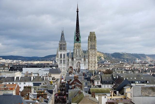 Rouen en Normandía
