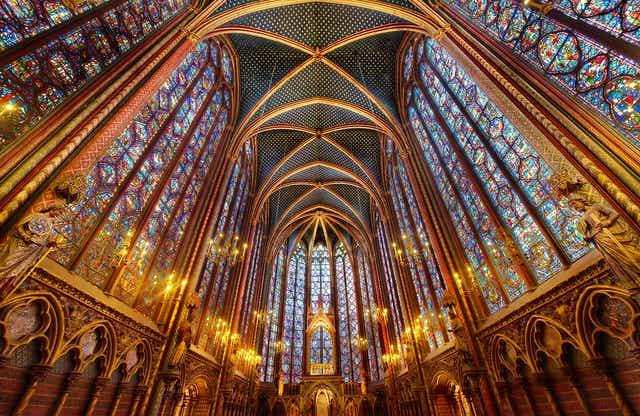 La Sainte-Chapelle, uno de los lugares más bellos de París