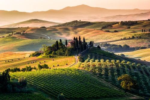 San Quirico d'Orcia en Toscana