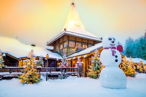 Santa Klaus Village en Finlandia