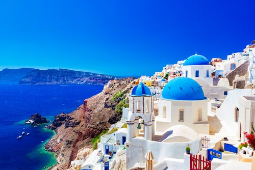 Santorini, fotografía de las islas griegas
