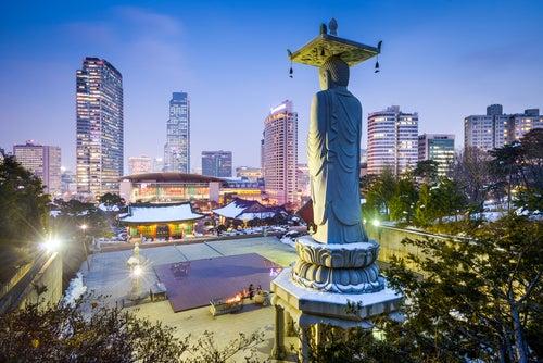 Seúl en Corea, Asia