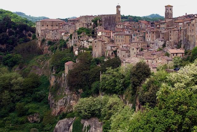 Sorano en Italia