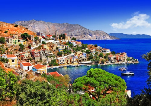 Symi en las islas griegas