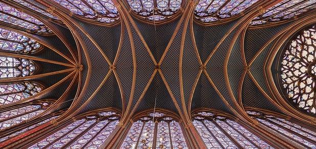 Techo de la Sainte Chapelle