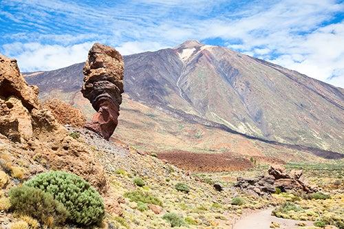 El Teide, el imponente volcán de la isla de Tenerife