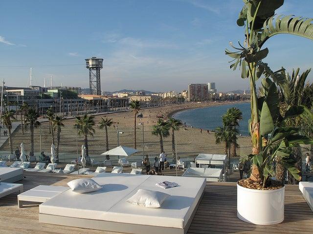Terraza del W Barcelona