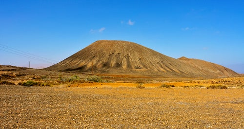Montaña de Tindaya en Fuerteventura