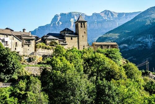 Torla, uno de los pueblos de Huesca más bonitos