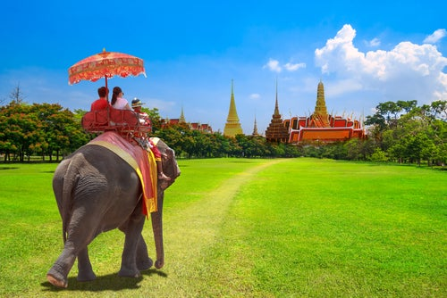 Viajeros en Tailandia