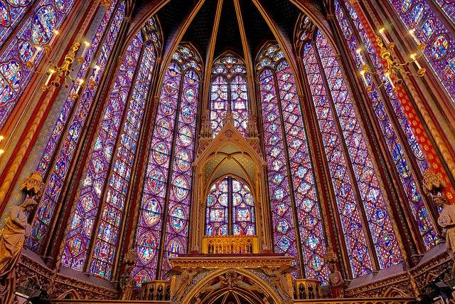 Vidrieras de la Sainte-Chapelle