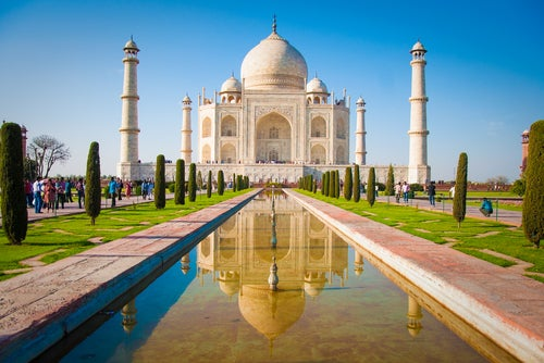 El Taj Mahal, un símbolo del amor eterno