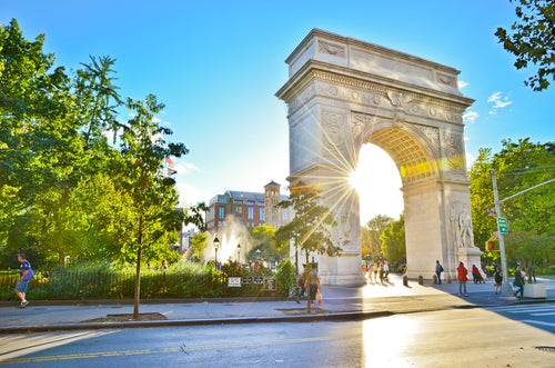 Washington Square en Nueva York