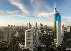 Vista de Yakarta en Indonesia