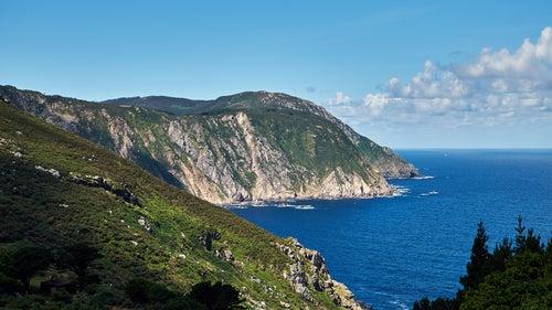 Acantilados de Cedeira en Galicia, uno de los sitios más bonitos de España