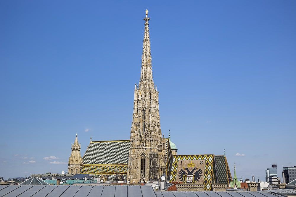 Aguja de la catedral de Viena