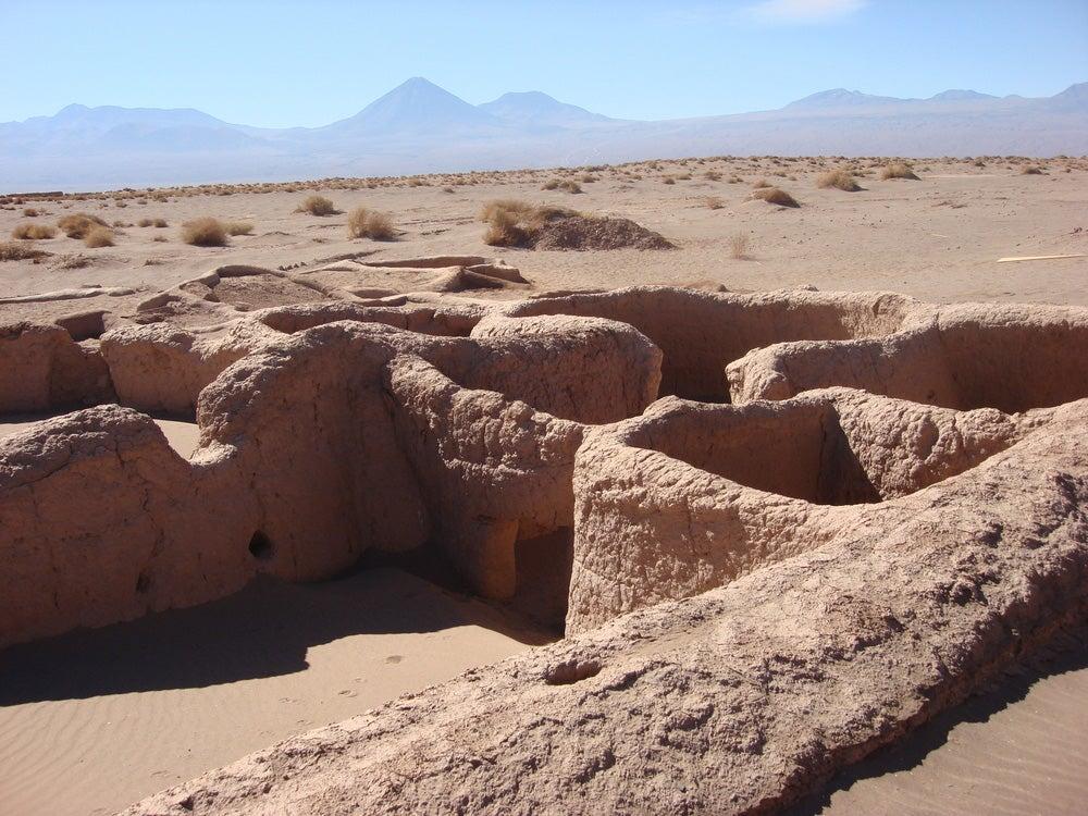 Aldea Tulor en San Pedro de Atacama