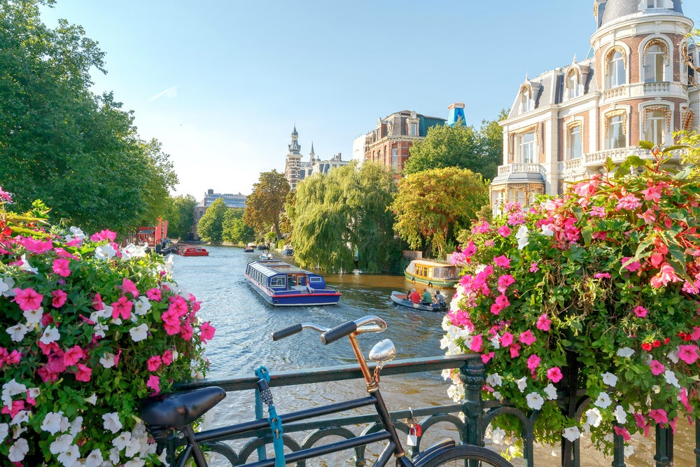 Ámsterdam un buen lugar para comenzar a viajar por Europa