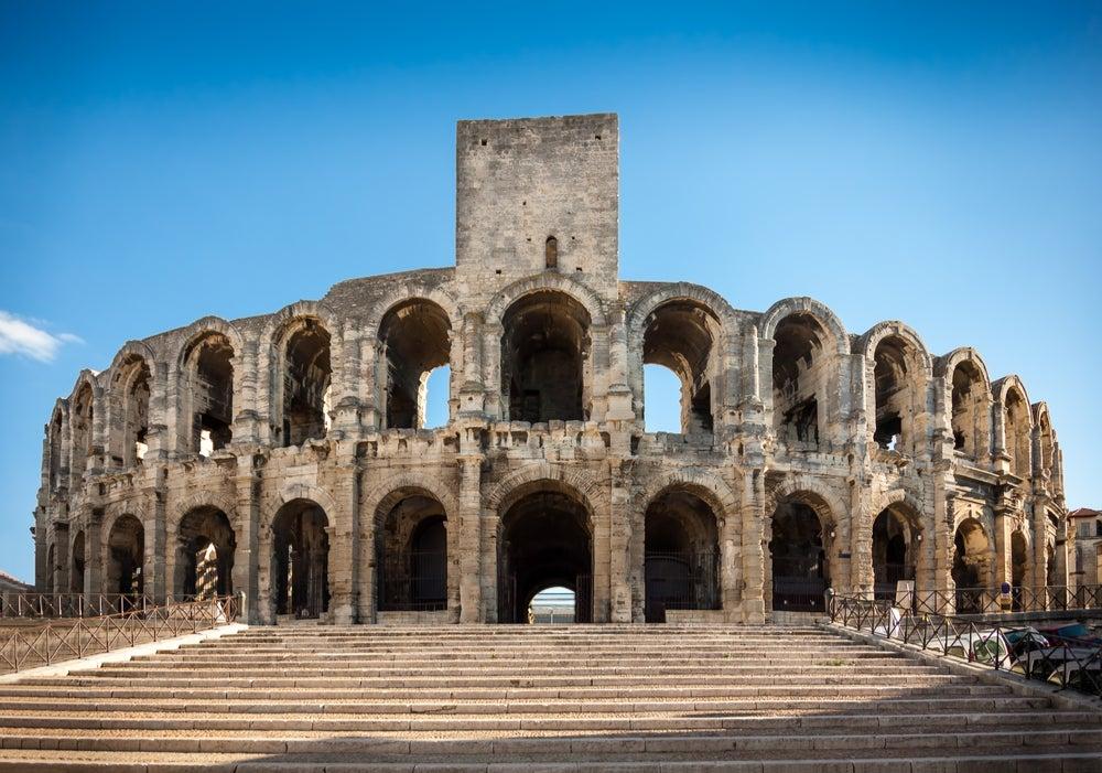 Anfiteatro romano de Arlés