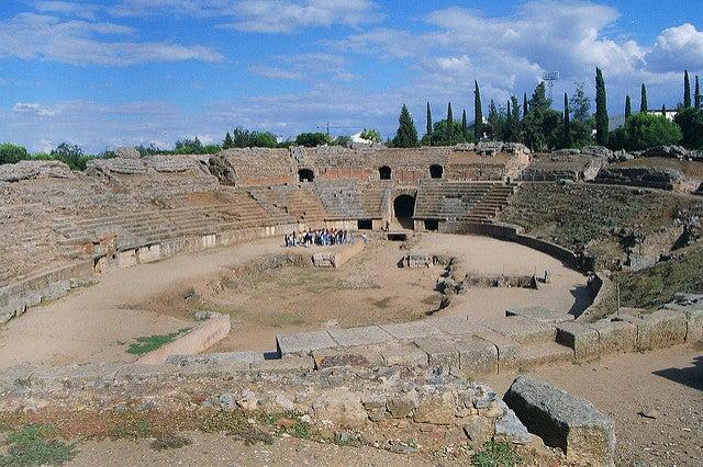 Monumentos de Mérida: anfiteatro