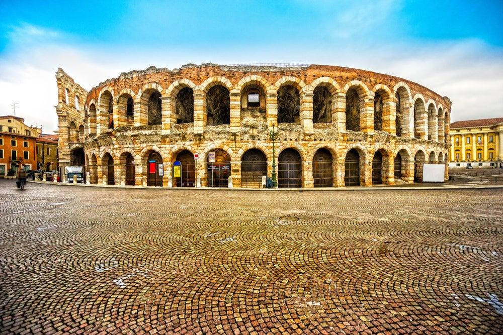 anfiteatros romanos: Arena de Verona